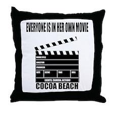 COCOA BEACH(HER MOVIE) Throw Pillow