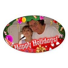 Customized Xmas Design Decal
