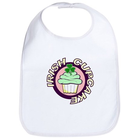Irish Cupcake Bib