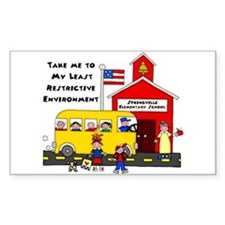 Springville Elementary LRE Rectangle Decal