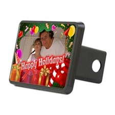 Customized Xmas Design Hitch Cover