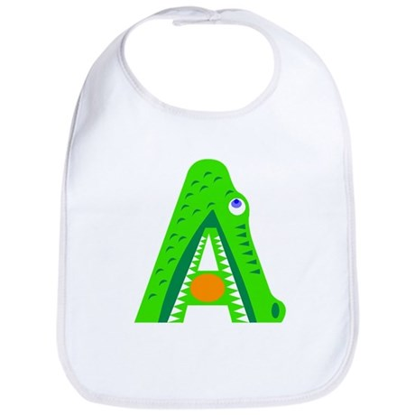 A is for Alligator Bib