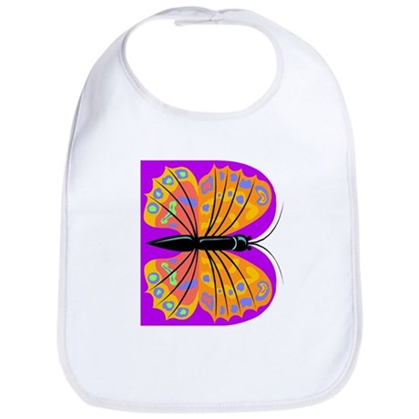 B is for Butterfly Bib