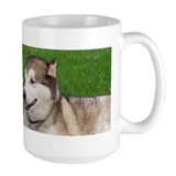 Malamute Kiss Coffee Mug