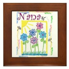 Nana Framed Tile