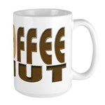 The frazzled coffee fanatic Large Mug