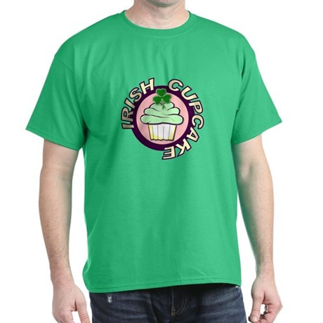 St. Patrick's Day Cupcake Green T-Shirt