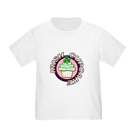 St. Patrick's Day Cupcake Toddler T-Shirt