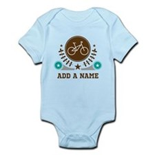 Personalized Biking Infant Bodysuit