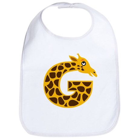G is for Giraffe Bib