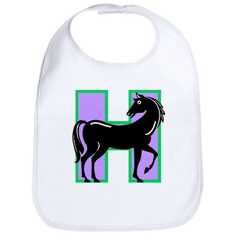 H is for Horse Bib