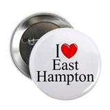"""I Love East Hampton"" Button"