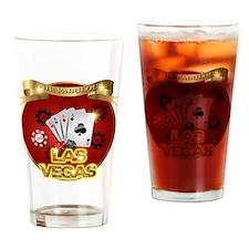 1 Gambling Vegas Drinking Glass