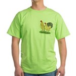 Blue-tail Buff Pair Green T-Shirt