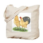 Blue-tail Buff Pair Tote Bag