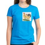 Blue-tail Buff Pair Women's Dark T-Shirt
