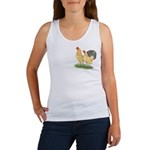 Blue-tail Buff Pair Women's Tank Top