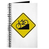 Biking Road Sign Journal
