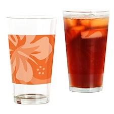 Orange-Twin Drinking Glass