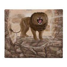 RoaringLion_pillow_case Throw Blanket