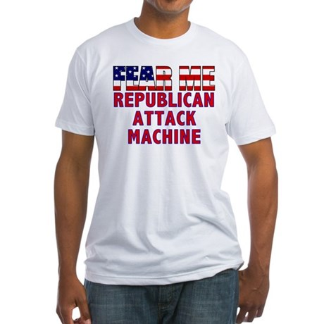 FEAR ME Republican Attack Squad Fitted T-Shirt