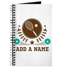 Personalized Tennis Journal