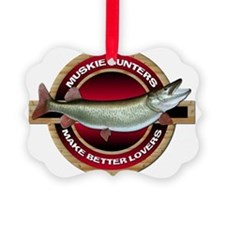 Muskie Musky Picture Ornament