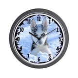 """Playing in the snow"" Wall Clock"