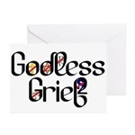 Godless Grief Greeting Cards (Pk of 10)