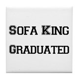 Sofa King Grad Tile Coaster