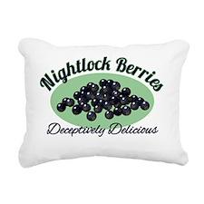 Nightlock-Berries Rectangular Canvas Pillow