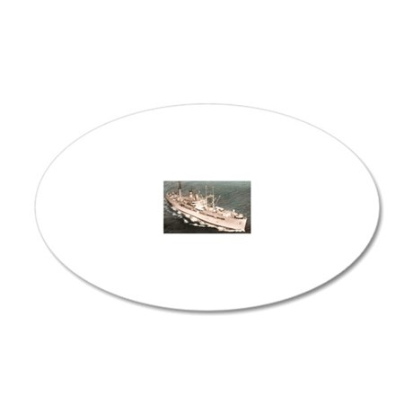 amphion rectangle magnet 20x12 Oval Wall Decal