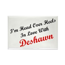 In Love with Deshawn Rectangle Magnet
