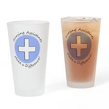 Nursing Assist MAKE A DIFF Drinking Glass