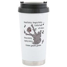 Mad Kitty Angry Kitty Travel Mug