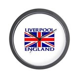 Cool British football Wall Clock