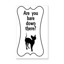 areyoubaredownthere Rectangle Car Magnet