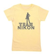 10x10_apparel.TEAM NIKON.gray copy Girl's Tee
