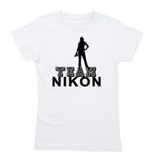 10x10_apparel.TEAM NIKON.blk copy Girl's Tee