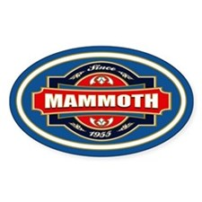 Mammoth Mtn Old Label Decal