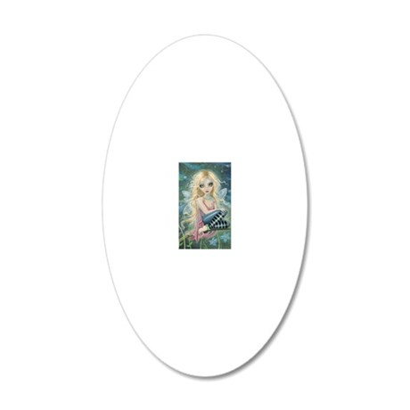 Starlight Fairy 20x12 Oval Wall Decal