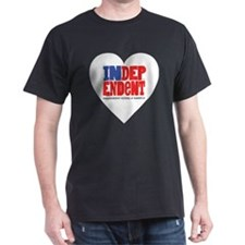 10x10WHITEHEART T-Shirt