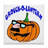 Grouch-O-Lantern Tile Coaster