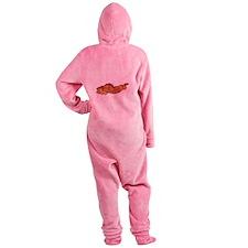 baconpoem Footed Pajamas