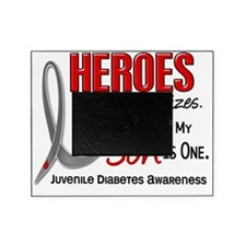 D Heroes All Sizes Son Juvenile Diab Picture Frame