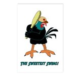 Athletic Chicken Postcards (Package of 8)