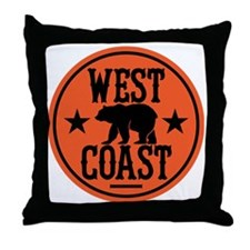 westcoast01 Throw Pillow