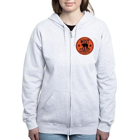 westcoast01 Women's Zip Hoodie