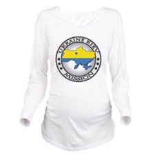 Ukraine Kiev LDS Mis Long Sleeve Maternity T-Shirt