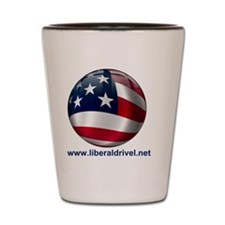 LiberalDrivel Logo.gif Shot Glass
